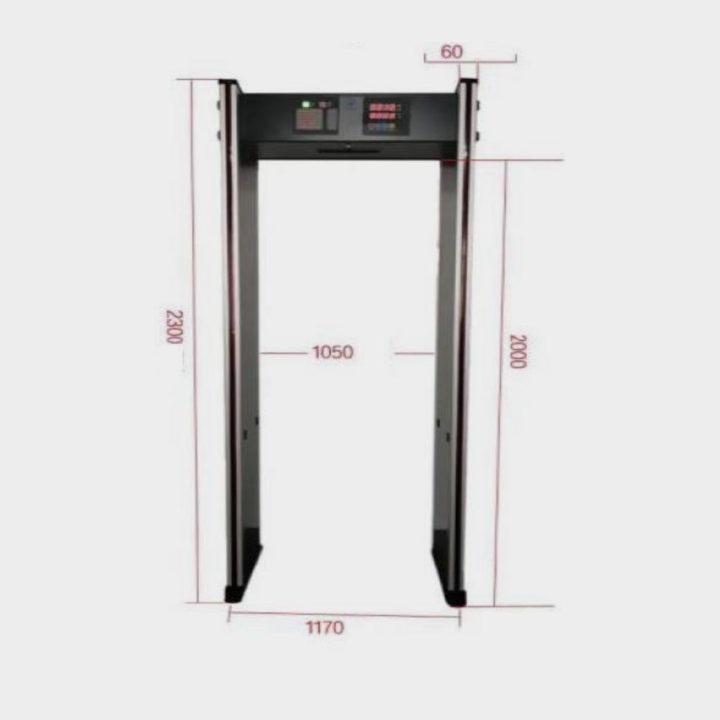 Arco de termometría corporal